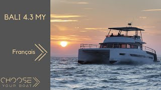 Bali 4.3 MY, Vidéo de visite guidée en français - Bali Catamarans