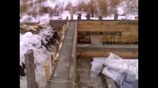 видео Можно ли делать фундамент зимой? Возведение фундаментов в зимних условиях.