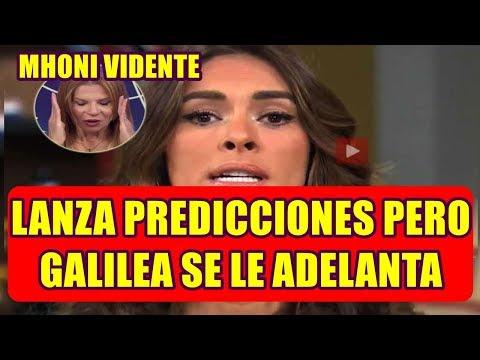 MHONI VIDENTE lanza PREDICCIONES pero GALILEA MONTIJO se le ADELANTA