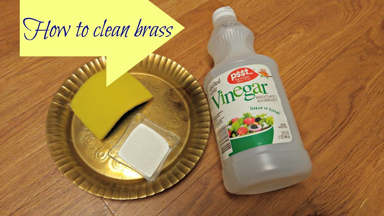 picture How to Clean Brass