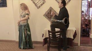 Drum solo improvisation by Marwan and Liz Leyla