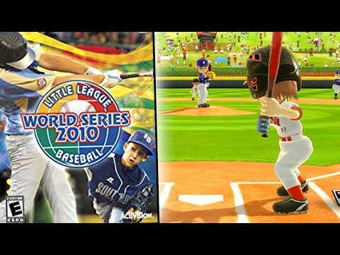 Little League World Series Video Game! - Little League World Series 2010 Gameplay