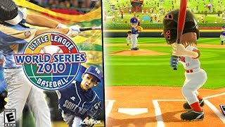 Little League World Series Video Game! - Little League World Series 2010 Gameplay