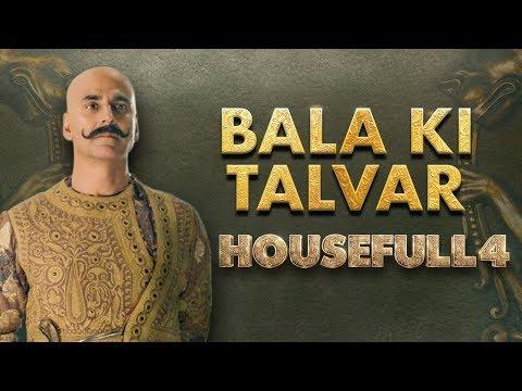 Housefull 4  Bala Ki Talvar Akshay Riteish Bobby Kriti S Pooja Kriti K Sajid N Farhad In Cinemas Now