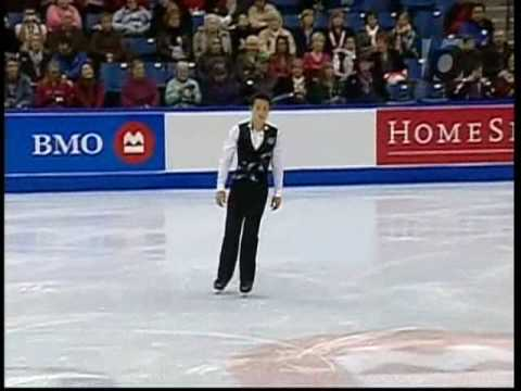 ☆ 2009 Nationals SP Patrick Chan (bold)