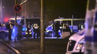 Polisinsats vid Sorgenfri