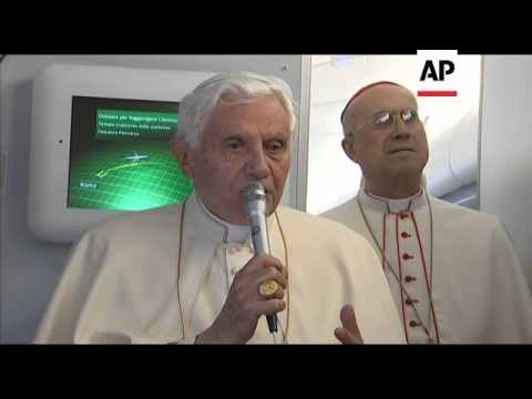 Pope Benedict XVI says Catholic church should spread a more simple message