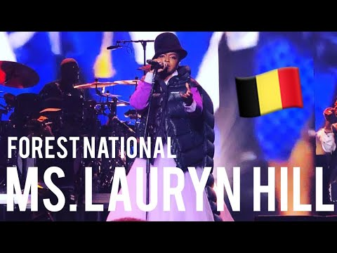 MS. LAURYN HILL LATE AT FOREST NATIONAL! 🇧🇪 The Miseducation of Lauryn Hill 20th Anniversary Tour