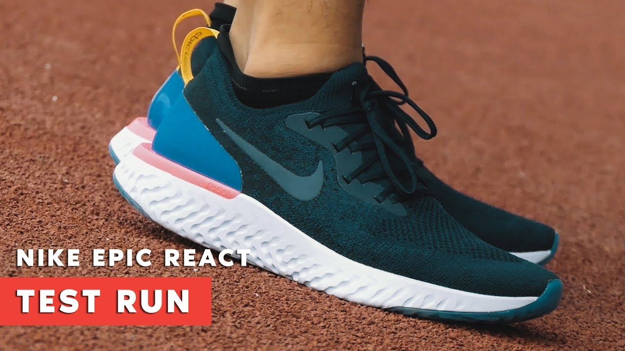 nouveau concept 305c0 5397d TEST RUN: Nike Epic React