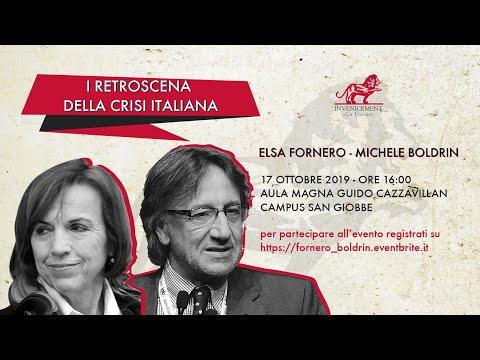 Elsa Fornero e Michele Boldrin - I retroscena della crisi italiana