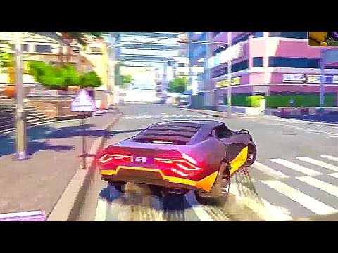 AGENTS OF MAYHEM - 1 Hour of Open World Gameplay (PS4 Xbox One PC) 2017