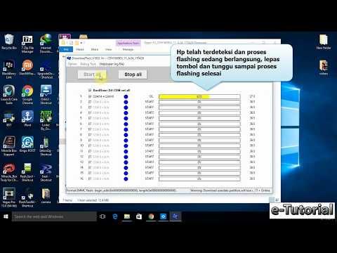 Cara flash Oppo F3 dengan program gratisan