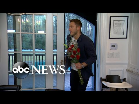 Colton Underwood surprises fans at a 'Bachelor' viewing party l GMA