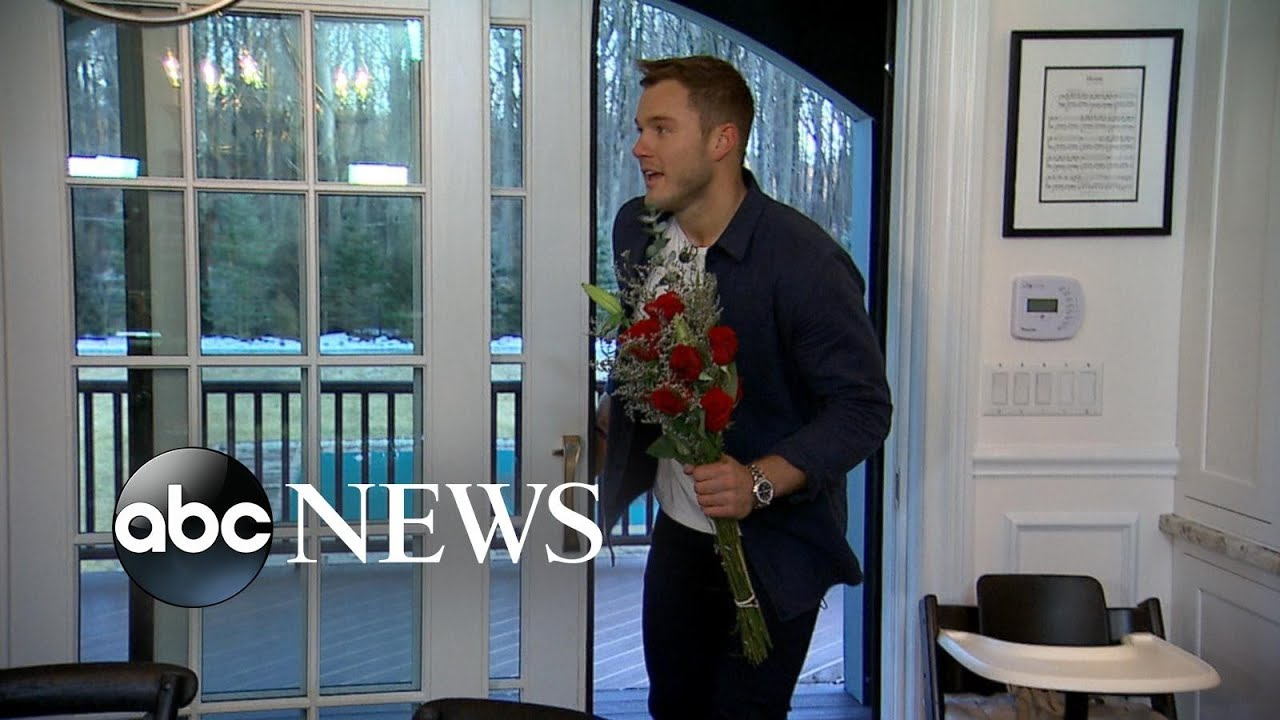 Colton Underwood Surprises Fans At A Bachelor Viewing Party L Gma Youtube