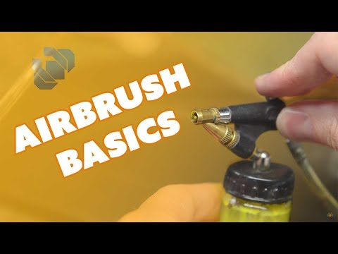 Airbrush Basics: Picking an Airbrush, Compressors, & Cleaning - Prop: Shop
