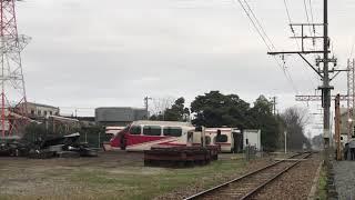 【1131F】廃車、切断後のパノスパ(元パノラマカー)と5000系(元パノスパ)