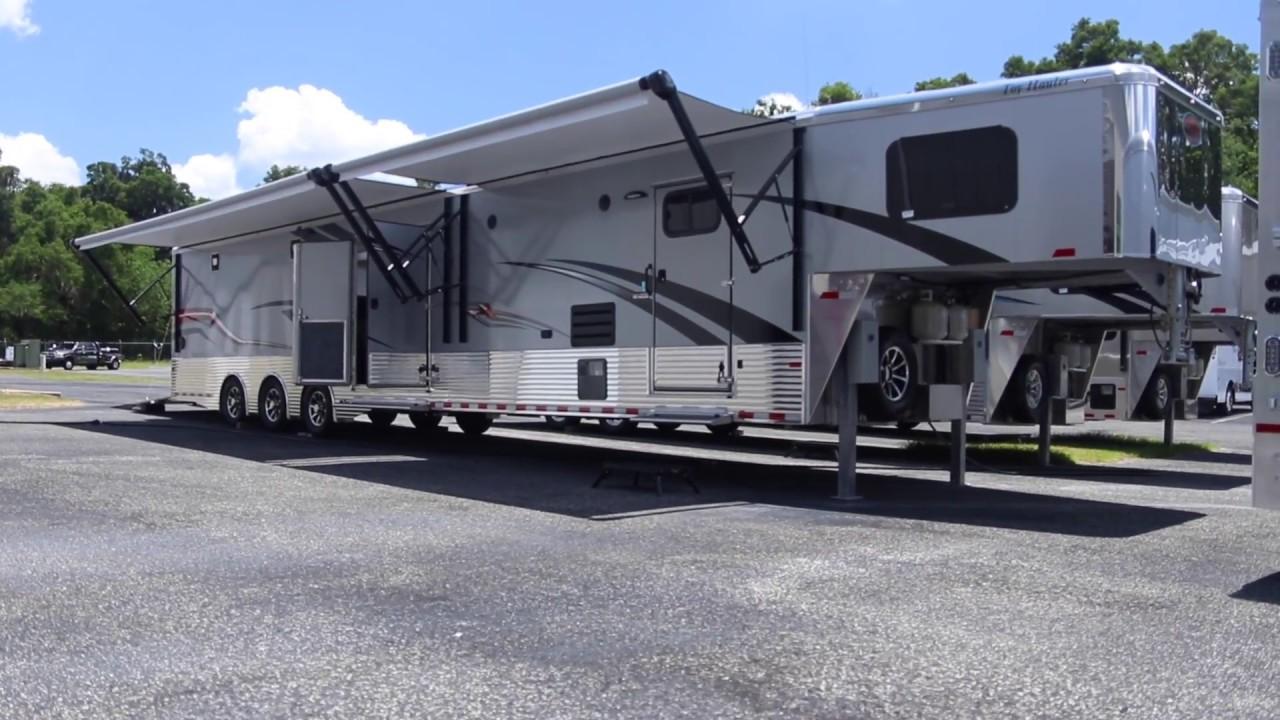 2017 Sundowner 48\' Toy Hauler For Sale - Ocala Trailer/Modern Muscle ...