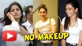 Repeat youtube video Deepika Padukone, Kareena Kapoor, Katrina Kaif   Actresses Without Makeup