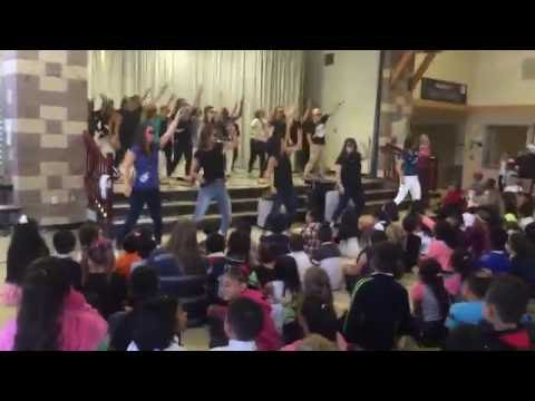 Hazel Valley Elementary School Staff Dance