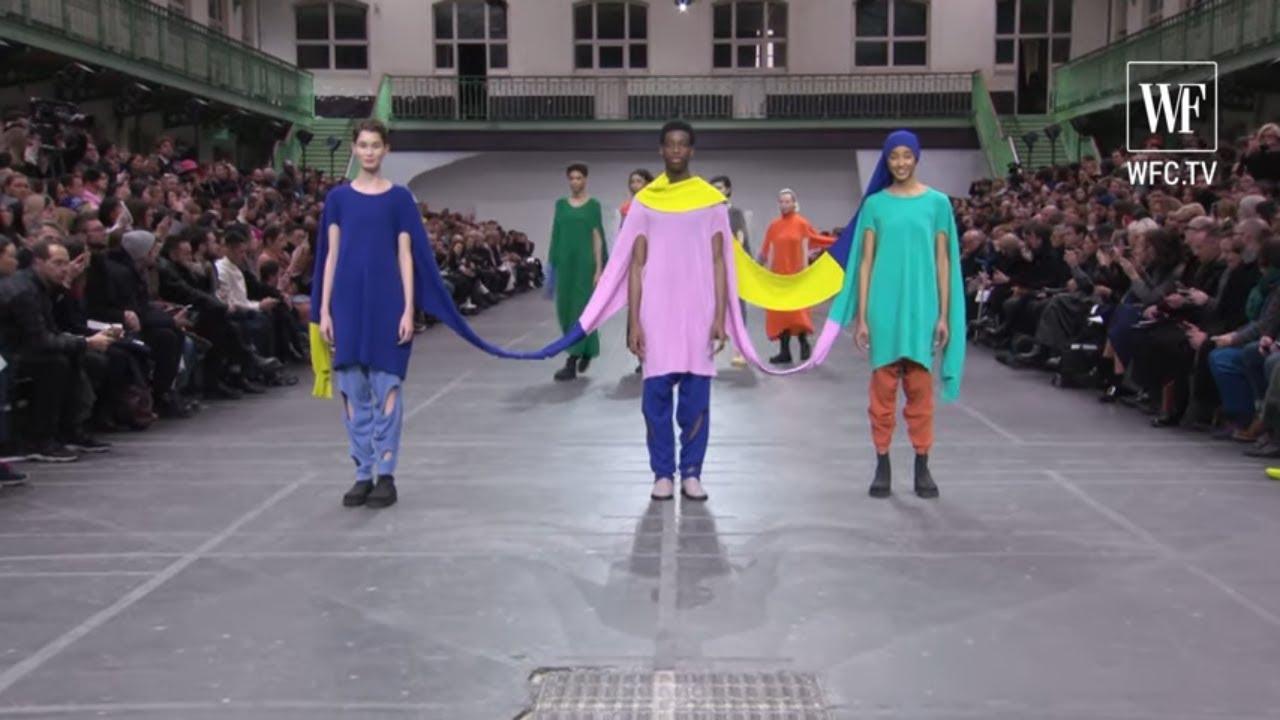 Issey Miyake fall-winter 20-21 Paris fashion week