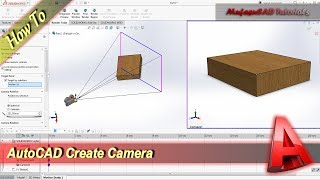 Solidworks How To Create & Use Camera Tutorial