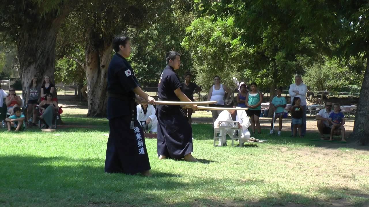 Taekwondo sword form 1