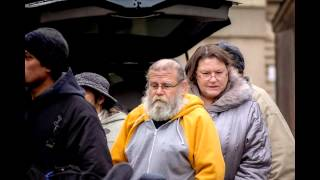 Making The Homeless Smile. Dec 22, 2013, Windsor On. Canada
