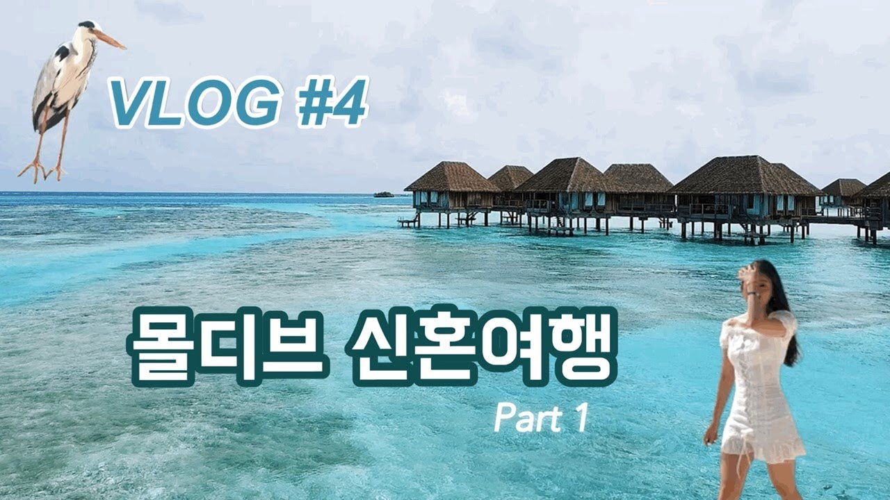 VLOG #4 l 몰디브 신혼여행/몰디브여행/Maldives/Honeymoon