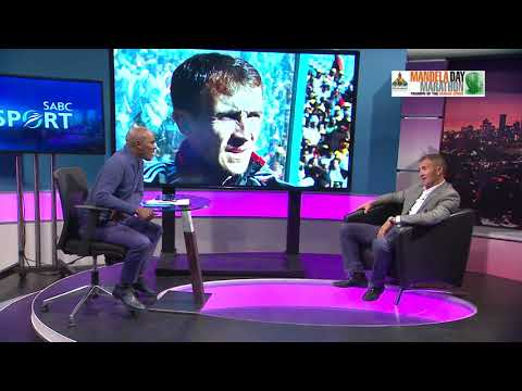"Thomas Mlambo interviews football coach Milutin ""Micho"" Sredojević"