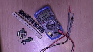 Обзор и тест прибора измерения ёмкости конденсаторов  до 20000мкф DM6013L