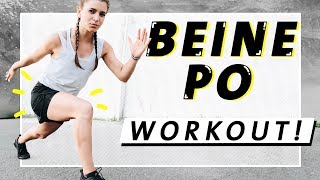Beine Po HIIT Workout | Fett verbrennen | 15 Min. Intensiv & Effektiv