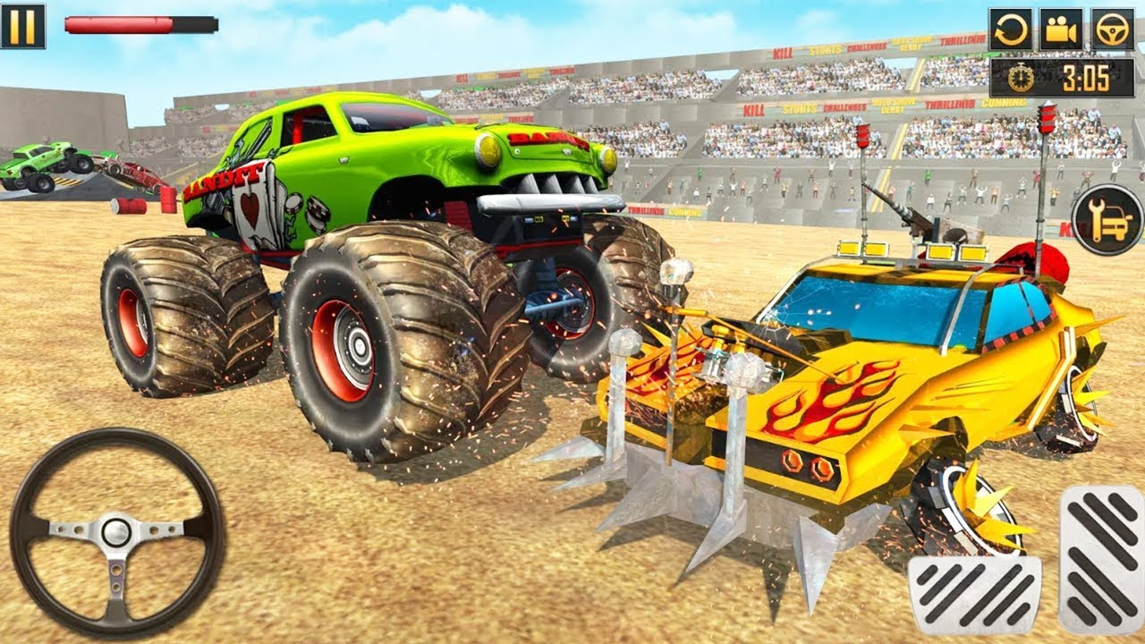 Monster Truck Derby Crash Stunts 2019 - Android Game Play HD