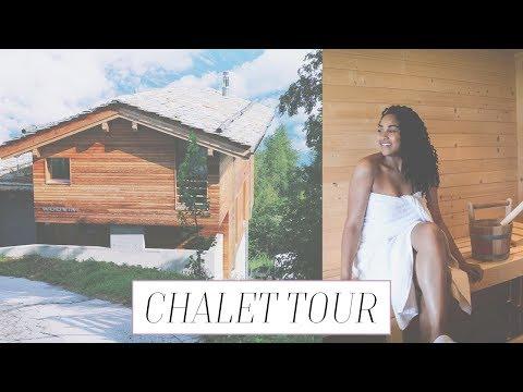 LUXURY SWISS CHALET TOUR! | Elaisha Goes...to Nendaz, Switzerland