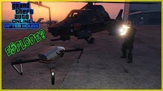PUÒ IL DRONE DI GTA 5 ONLINE SOPRAVVIVERE A QUESTI ESPERIMENTI? (GTA 5 ITA)