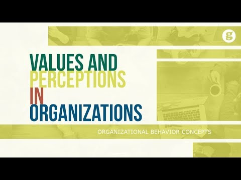 Values and Perceptions