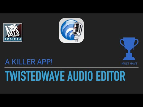TwistedWave Audio Editor v1.27