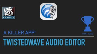 TwistedWave Audio Editor v1.27
