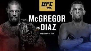 UFC 196 McGregor vs Diaz Trailer - Live From Las Vegas Promo