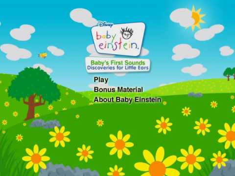 Baby S First Sounds Dvd Menu Youtube