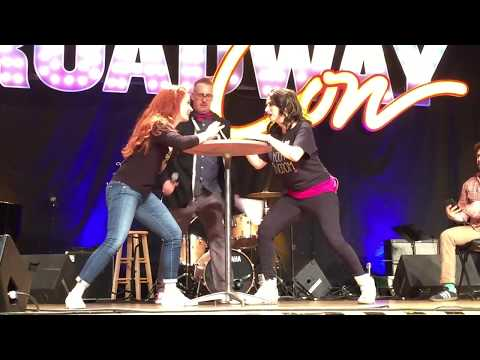 Sierra Boggess Funny Moments at Broadwaycon 2018