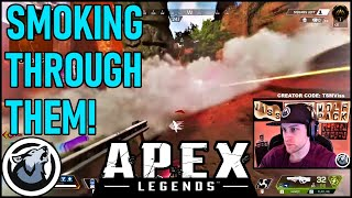 SMOKING THROUGH THEM! VISS, APEX LEGENDS SEASON 4