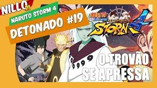 naruto storm 4 detonado 19 o vento se infurece boss battle naruto e sasuke vs madara nillo21