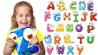 ABC - All Alphabet A-Z with a word from Nadia