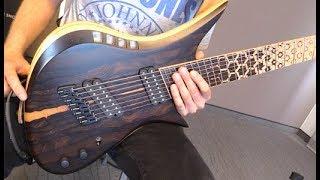 Holy Grail Guitar Show - Red Layer Guitars Juggernaut Demo