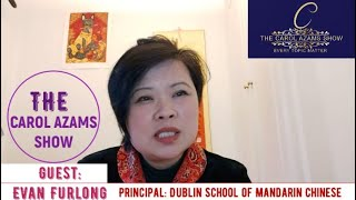 A fresh episode of the Carol Azams Show on Diversity TV Ireland