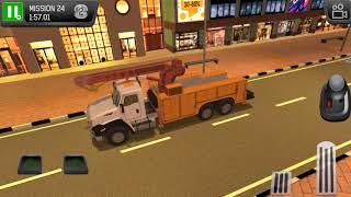 Emergency Driver Sim: City Hero Crane Truck - Gameplay Android & iOS game