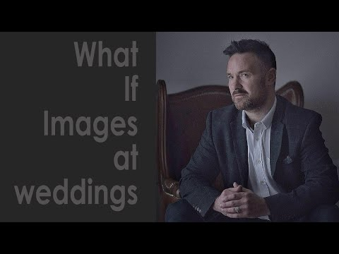 What If Images at a wedding