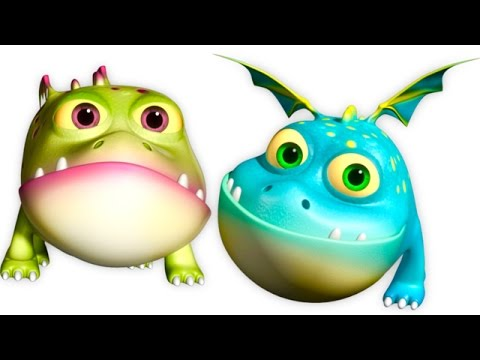 Five Little Monsters Jumping On The Bed | And Many More Nursery Rhymes | 3D Rhymes Collection
