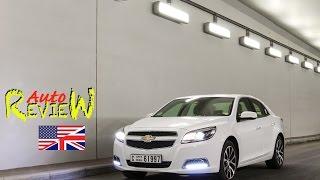 2015 Chevrolet Malibu V6 LTZ - AutoReview - Dubai (Episode 35) [ENG]