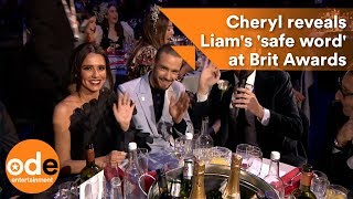 Awkward! Cheryl reveals Liam Payne's 'safe word' at The BRITs